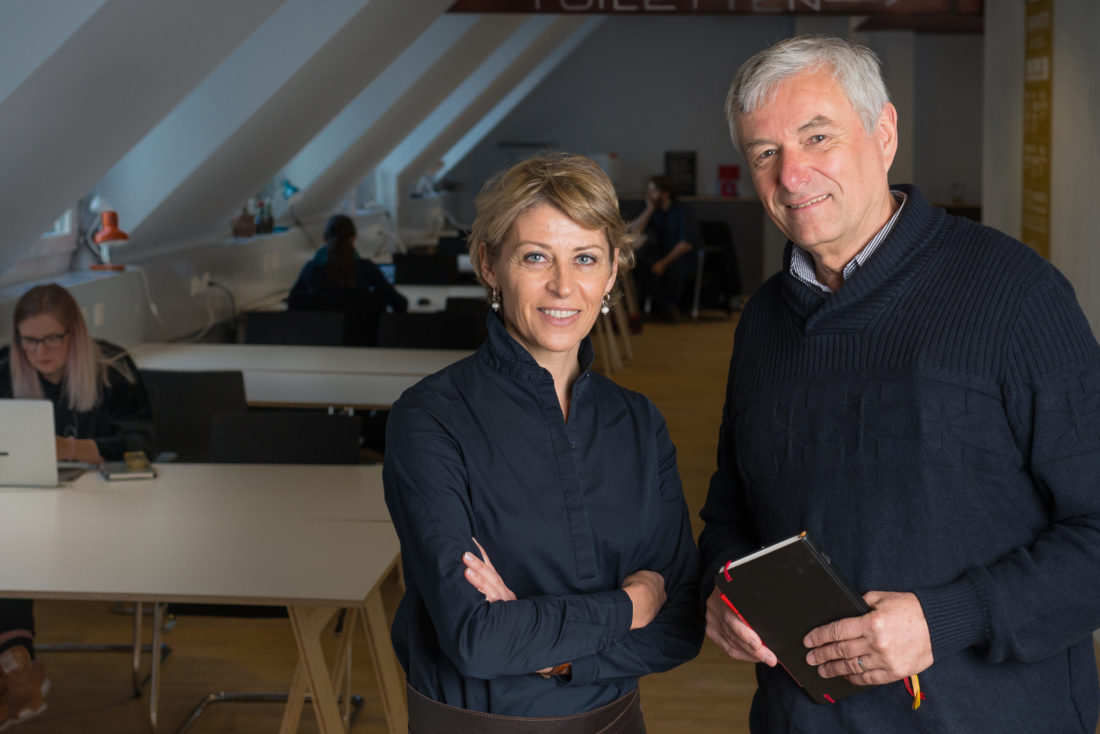 Franziska Vonaesh und Peter Belart, Agentur Businessmind GmbH
