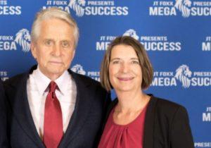 Michael Douglas und Eva-Maria Müller