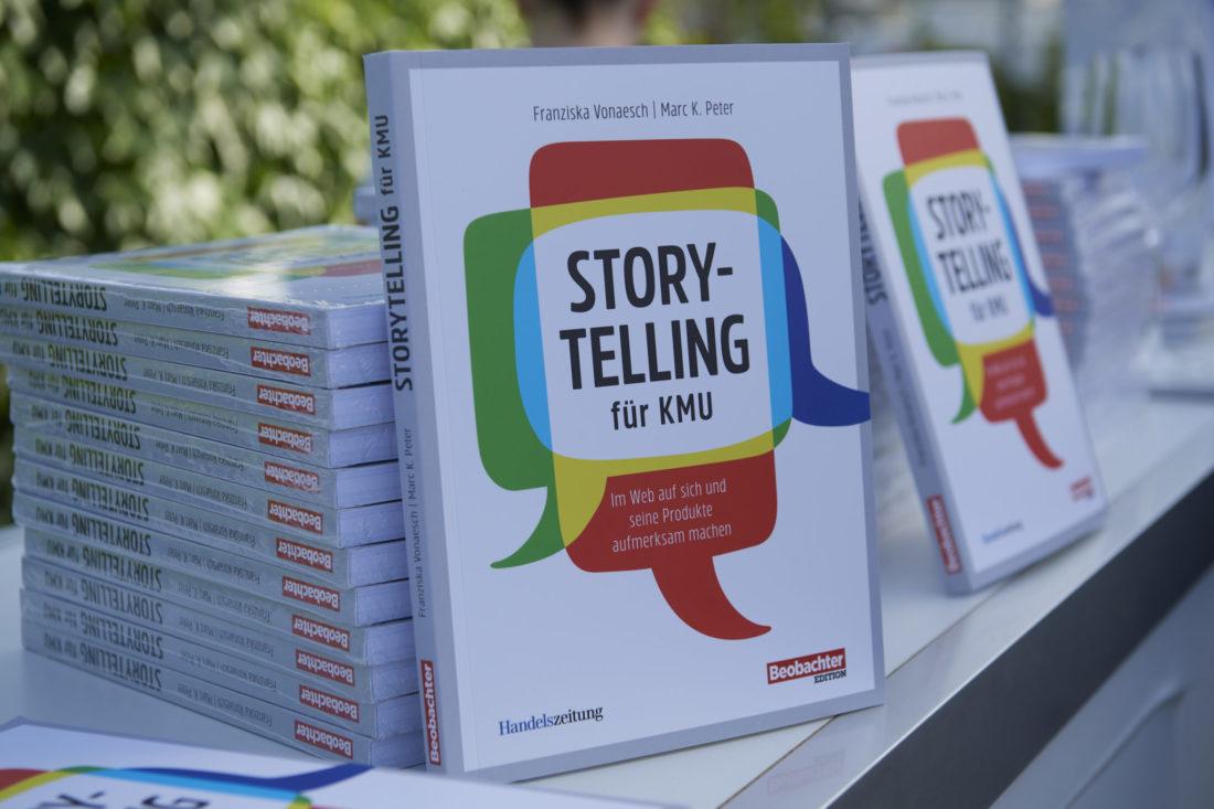 Neuerscheinung Storytelling für KMU