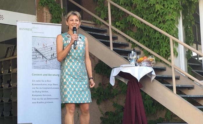 """Franziska Vonaesch, Co-Autorin des Beobachter Ratgebers """"Storytelling für KMU"""""""