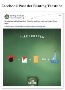 Storytelling auf den sozialen Medien