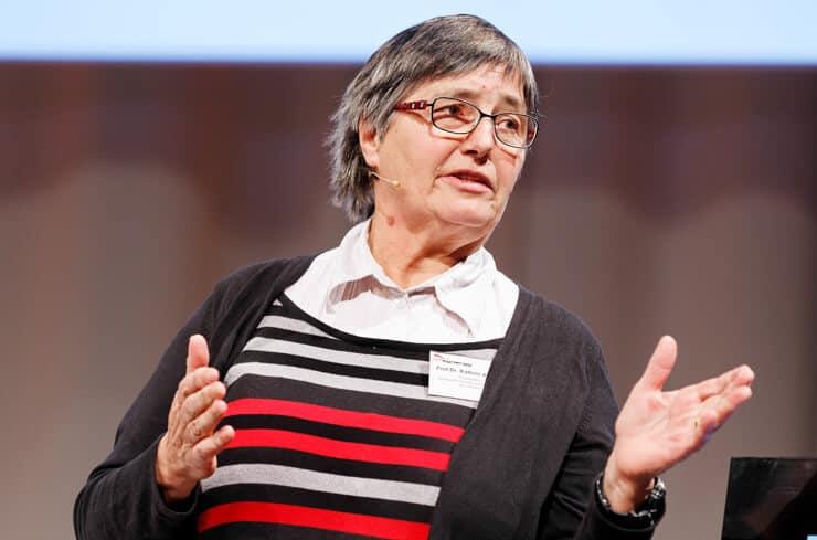 Kathrin Altwegg ist promovierte Physikerin und Dozentin für Weltraumforschung und Planetologie an der Universität Bern.