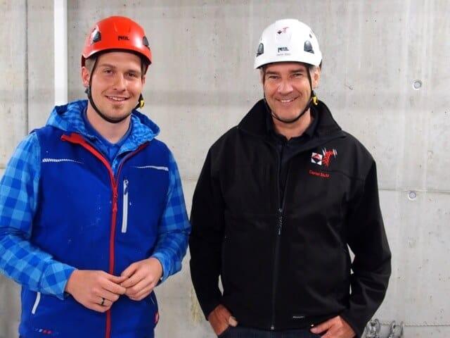 Hochspannung wortwörtlich beim Besuch des Unterkraftwerks Lenzburg