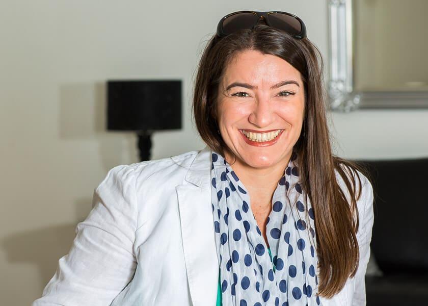 Simone Bauer ist Innenarchitektin